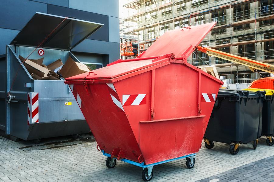 commercial dumpster for rent